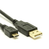 8Ware USB 2.0 Cable 2m A to Micro-USB B Male to Male Black