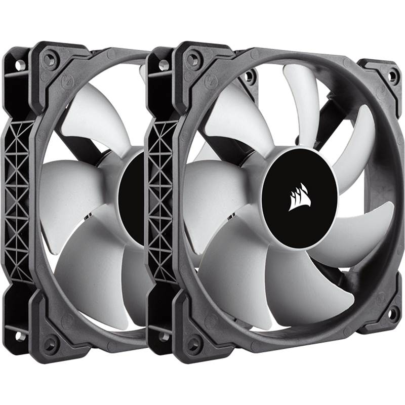Corsair ML120 120mm Premium Magnetic Levitation Fan - Twin Pack!
