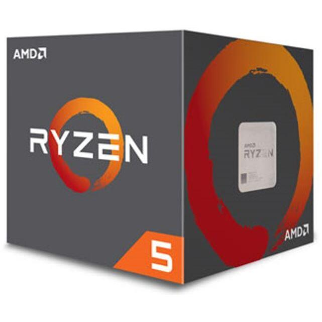 AMD Ryzen 5 2600, 6 Core/12 Threads AM4 CPU, 3.9GHz 19MB 65W w/Wraith Stealth Cooler Fan Box