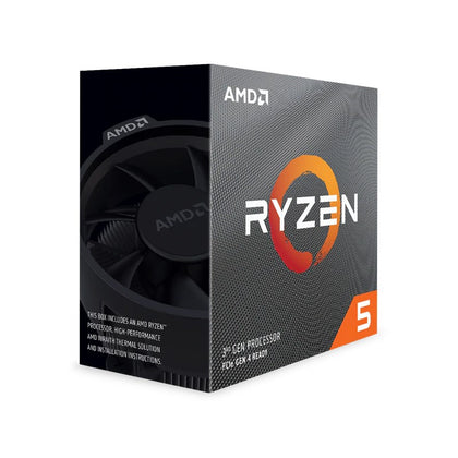 AMD Ryzen 5 3600, 6 Core AM4 CPU, 3.6GHz 4MB 65W w/Wraith Stealth Cooler Fan