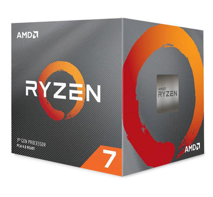 AMD Ryzen 7 3800X, 8 Core AM4 CPU, 3.9GHz 4MB 105W w/Wraith Prism Cooler Fan