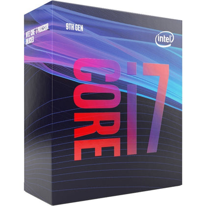 Intel Core i7-9700 3.0GHz (4.7GHz Turbo) LGA1151 9th Gen 8-Cores 8-Threads 12MB 8GT/s 65W UHD Graphics 630 Retail Box 3yrs