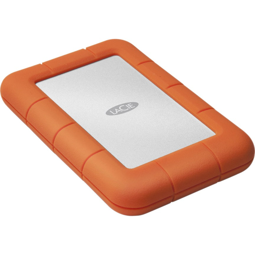 Seagate 4TB LaCie Rugged Mini, USB 3.0, IP67-rated extreme water resistance to drop, rain, dust, and crush resistance,  Aluminium 2 Years Warranty (LS