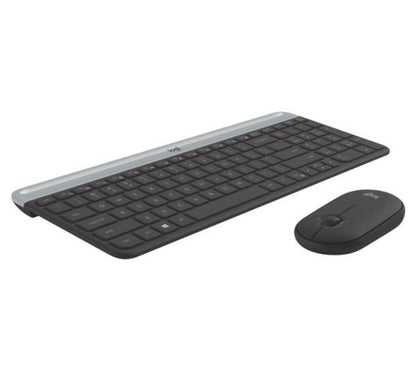 Logitech MK470 Slim Wireless Keyboard Mouse Combo Nano Receiver 1 Yr Warranty