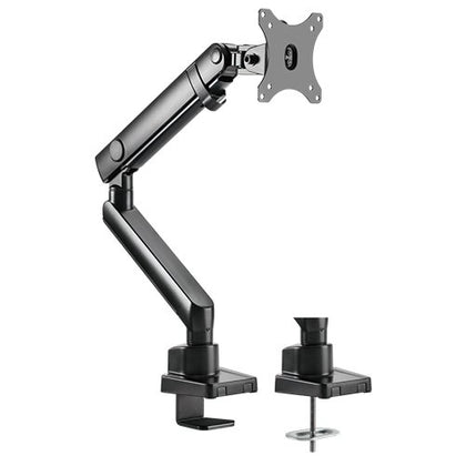 Brateck Single Monitor Aluminium Slim Mechanical Spring Monitor Arm For Most 17