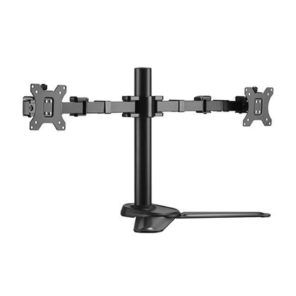 Brateck Dual Monitors Affordable Steel Articulating Monitor Stand Fit Most 17