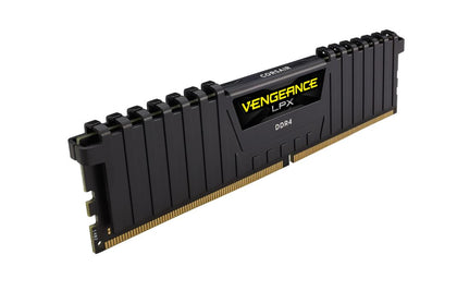 Corsair Vengeance LPX 32GB (2x16GB) DDR4 3600MHz C18 2 x 288 DIMM, AnodizedAluminum, 18-22-22-42 1.35V Limited Lifetime Desktop Gaming Memory Black