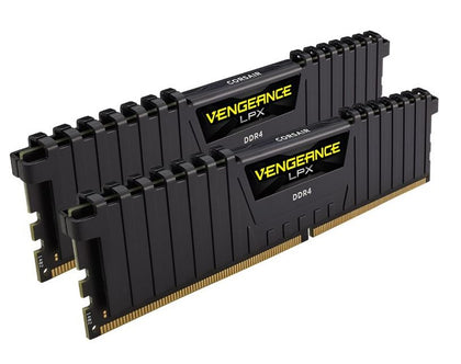 Corsair Vengeance LPX 16GB (2x8GB) DDR4 3600MHz C18 Desktop Gaming Memory Black - AMD Ryzen Optimized