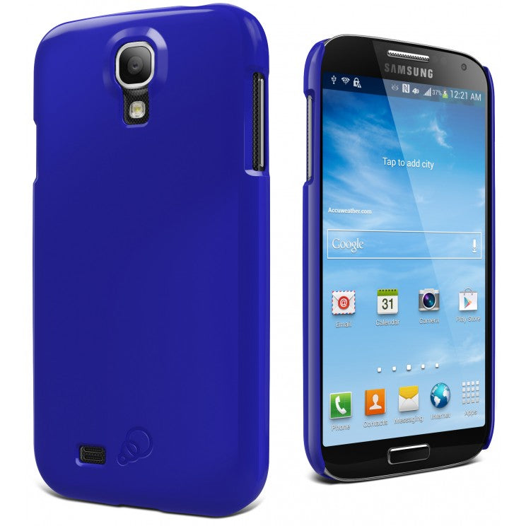 Cygnett Form Sapphire Blue Cas For Galaxy S4 Snap On Case