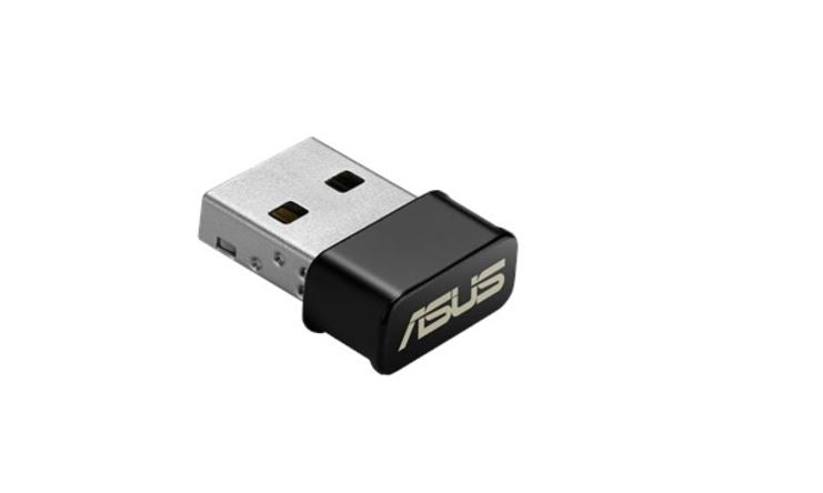 ASUS USB-AC53 Nano AC1300 Wireless USB Adapter, Support MU-MIMO and Windows 7/8/8.1/10 Operating Systems