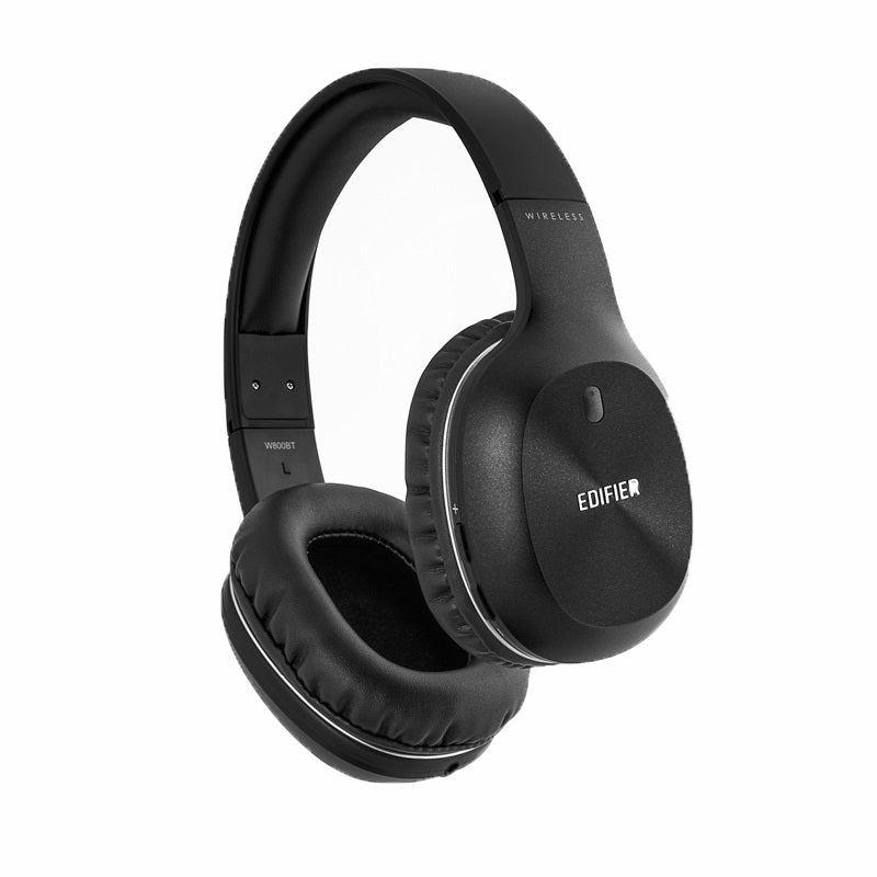 Edifier W800BT Bluetooth Over the Ear Wireless Headphone Black - Wireless BT 4.0/Long 35hr Battery Life/40mm Drivers