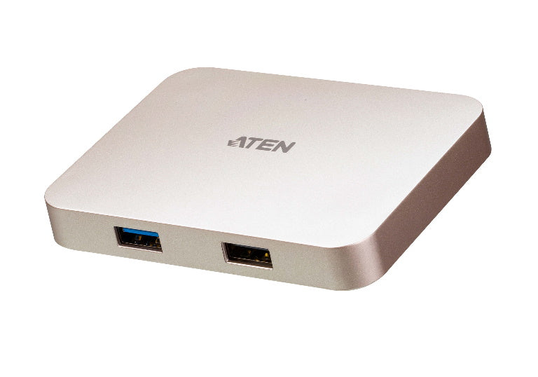 Aten USB-C Multiport Dock with Nintendo Switch, Android and iPad Pro (USB-C) support, HDMI 4K output, supports Windows + Mac (USB-C),