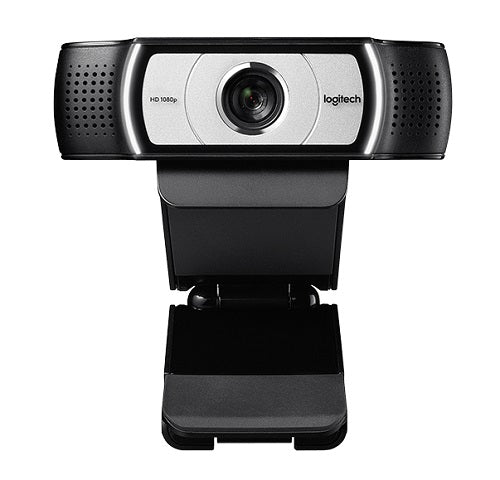 Logitech C930c Full HD 1080p Webcam -  1920x1080, 90 Degree Field View, Privacy Shutter, Tripid Ready, Ideal for Skype, Teams, Zoom Notebook PC
