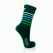 Load image into Gallery viewer, Green Stripes Socks