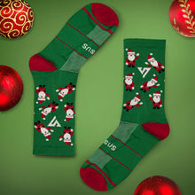 Load image into Gallery viewer, Santa Socks