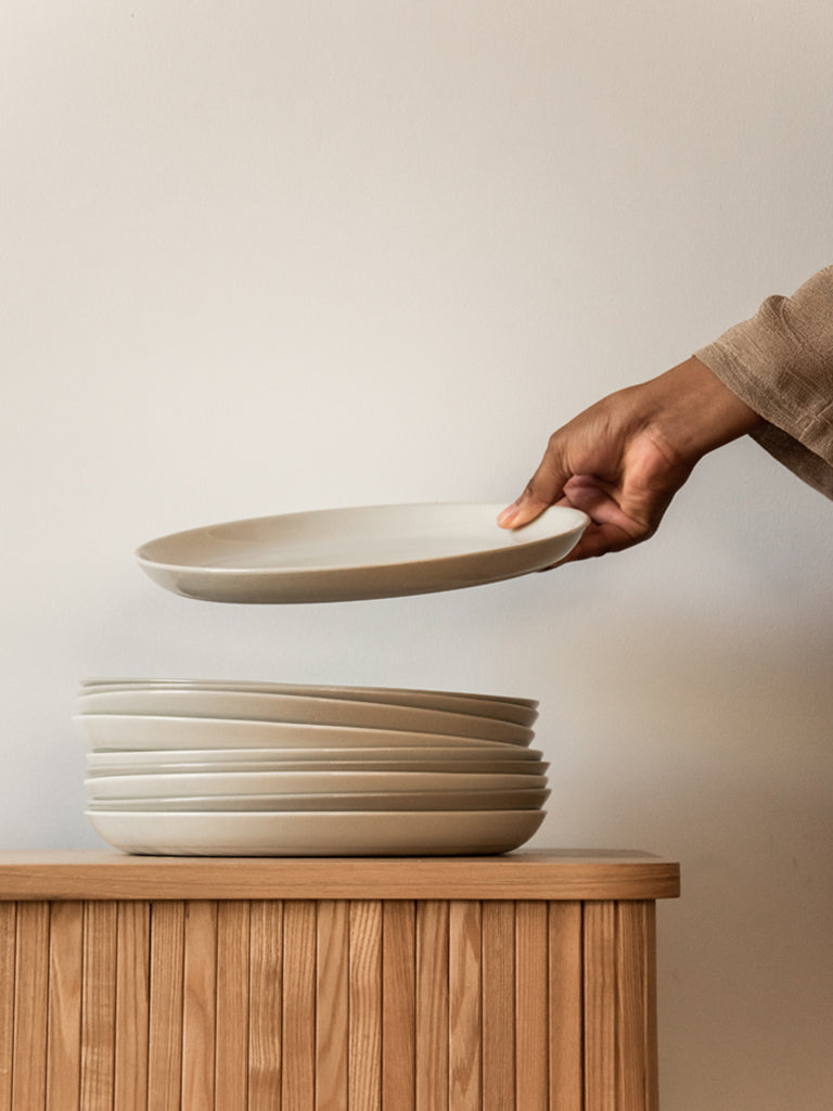 HUSK Ceramics Porcelain Tableware: Dinner Plate
