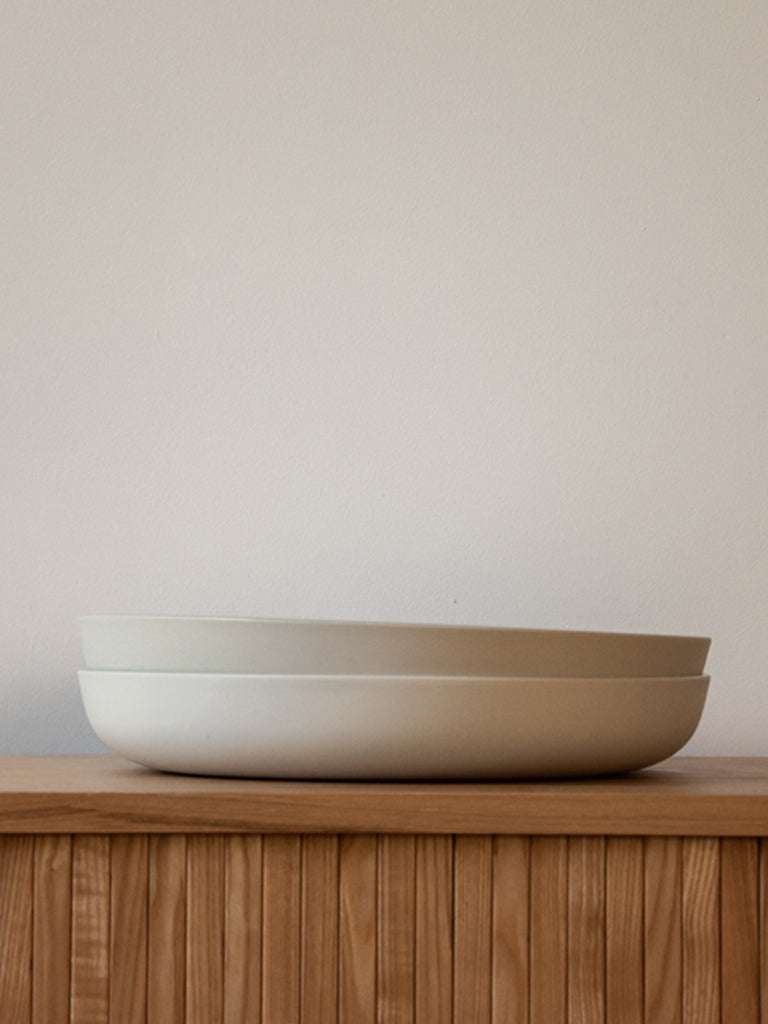 HUSK Ceramics Porcelain Tableware: Serving Bowl