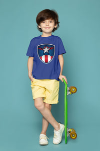 Boy's Captain America T-Shirt