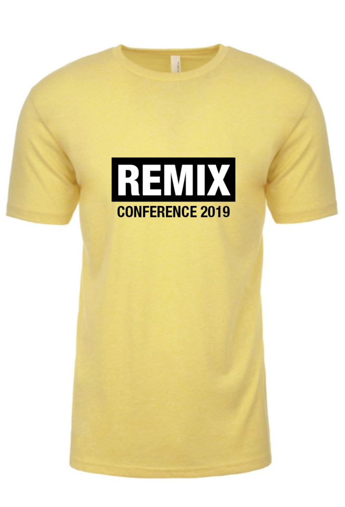 Yellow Remix Conference T-Shirt