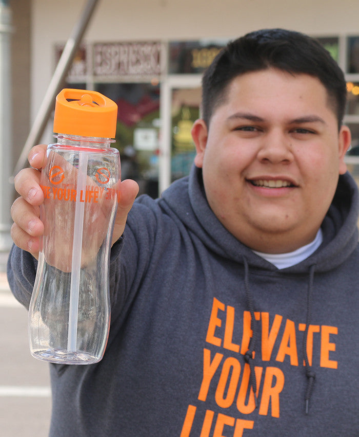 Elevate Your Life Water Bottle