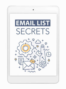Email List Secrets (Step-By-Step Blueprint)