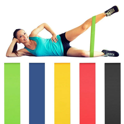 Fitness Latex Resistance Bands - Caseyoutdoor