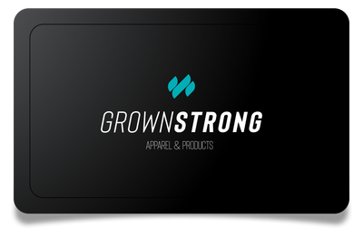 Apparel & Products - Gift Card - Grown Strong Fitness