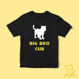 Children's Big Bro Cub T-Shirt - Black