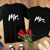 Couples T-Shirts - Mr/Mrs