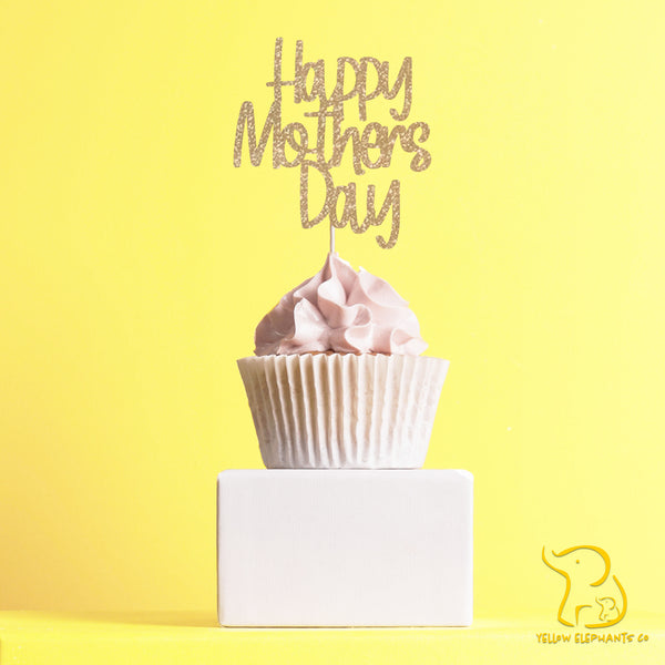 Happy Mother's Day Cupcake Toppers