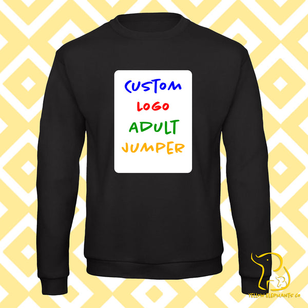 Completely Custom Logo Adult Jumper - Black