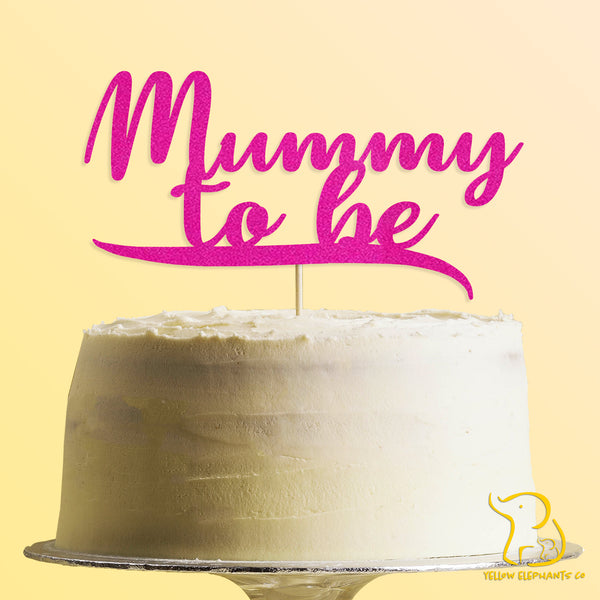 Mummy To Be Cake Topper