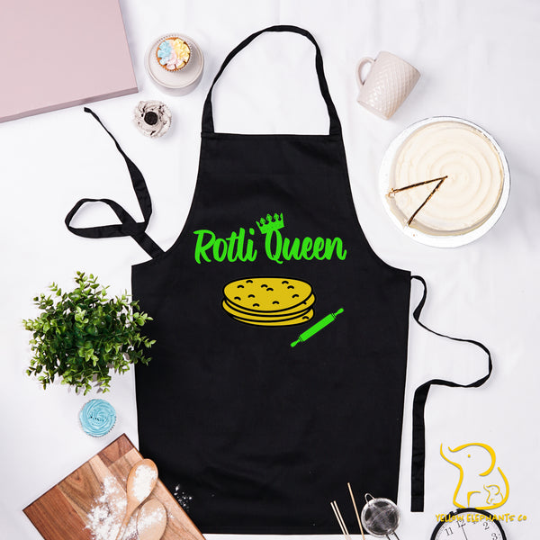 Rotli Queen Apron - Black