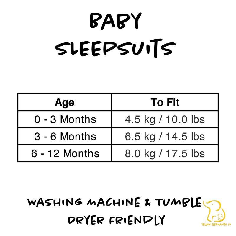 Eat. Poop. Nap. Repeat. Baby Sleepsuit
