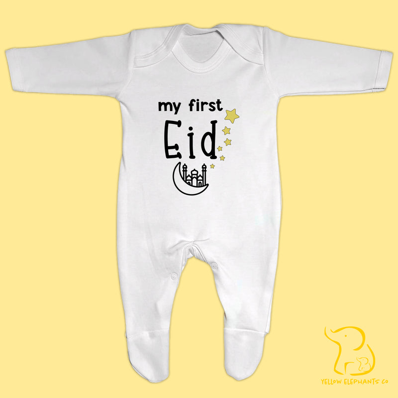 My First Eid Baby Sleepsuit