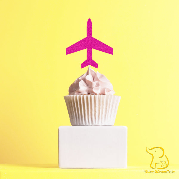 Aeroplane Cupcake Toppers