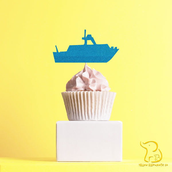 Boat Cupcake Toppers