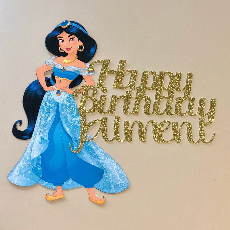Custom Character/Image Cake Topper, Optional Text