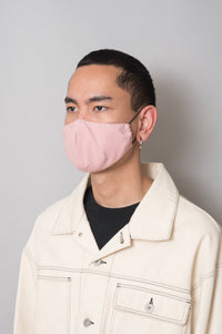 Ear Loops Mask | Pink
