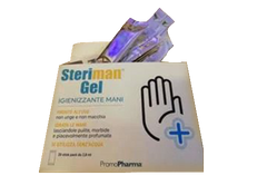Steriman 60% Scented Hand Alcohol Gel Sachets (Box of 20 Sachets)