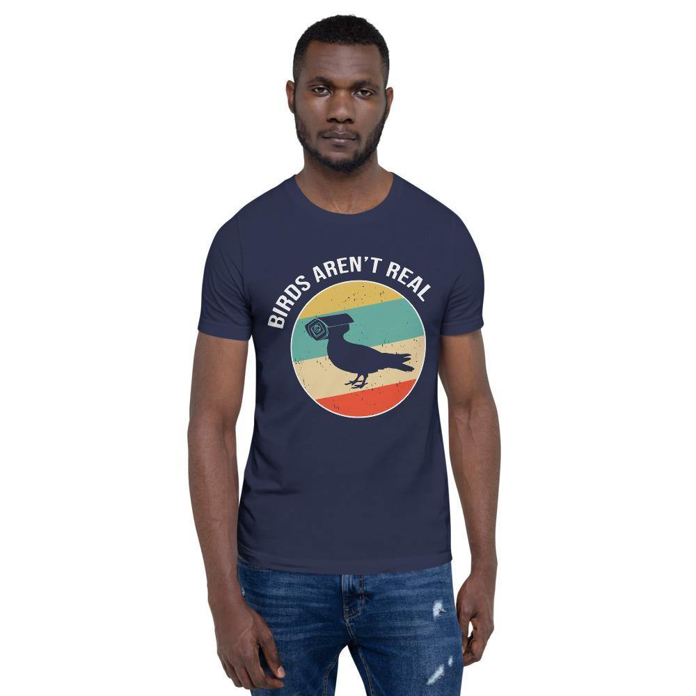 Birds Aren't Real Bella Canvas Short-Sleeve Unisex Tee-Bandits Emporium-Bandits Emporium