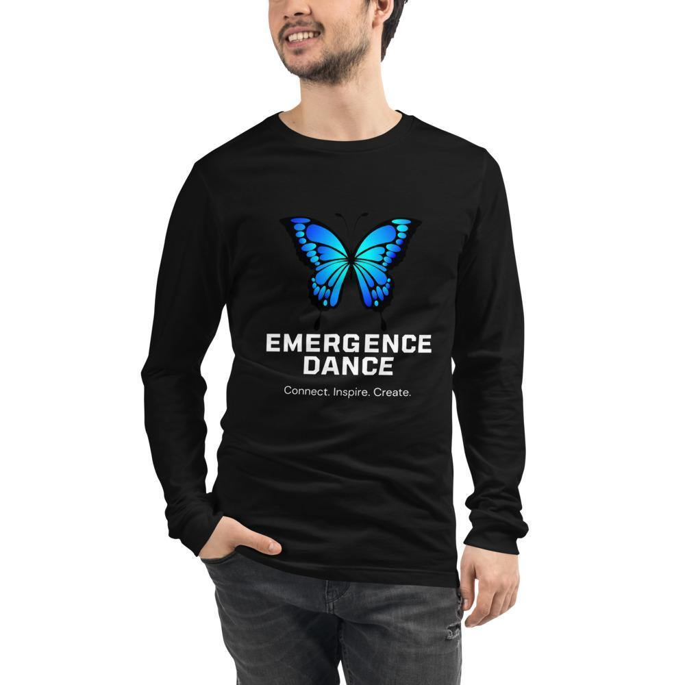 Emergence Dance Festival Bella Canvas Unisex Long Sleeve Tee-Long Sleeve-Bandits Emporium-Bandits Emporium
