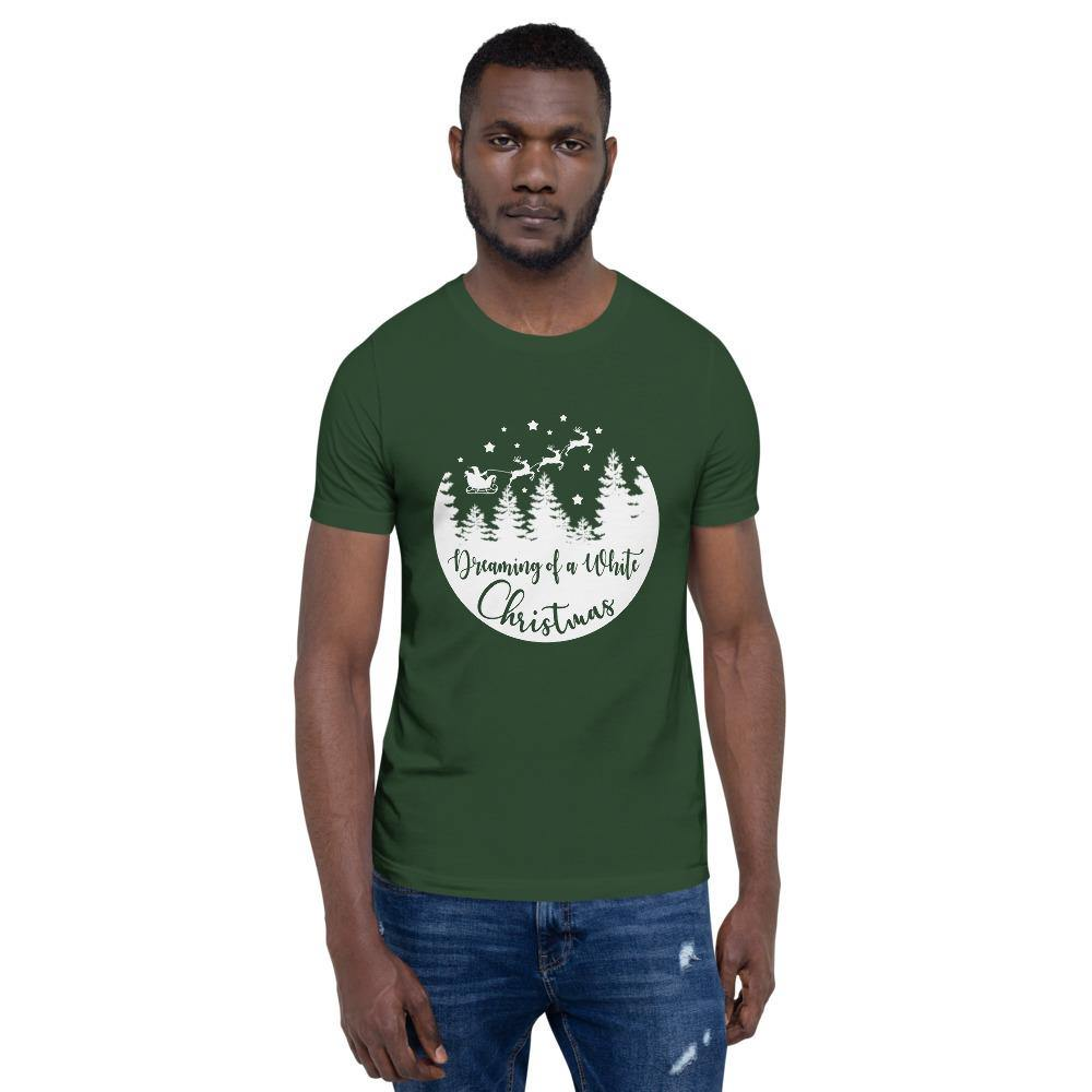 Dreaming of a White Christmas Bella Canvas Short-Sleeve Unisex Tee - Bandits Emporium