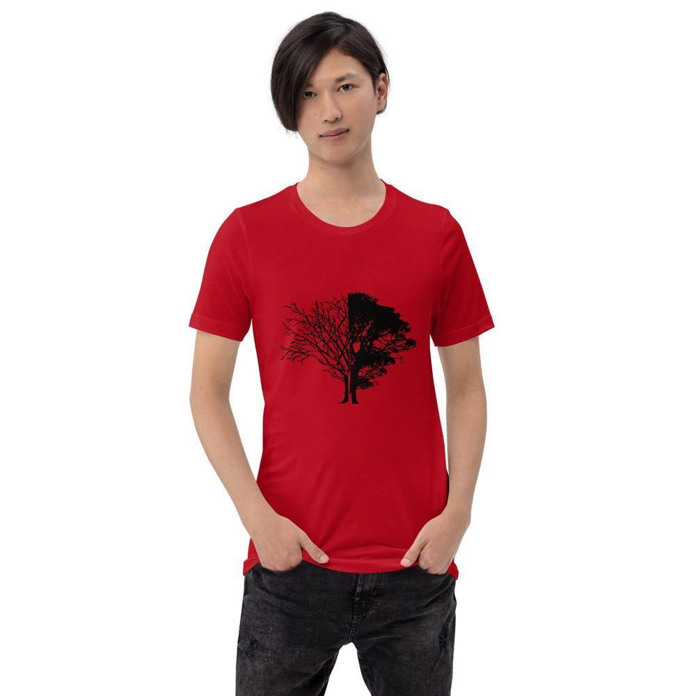 Tree of Knowledge Bella Canvas Short-Sleeve Unisex Tee-Bandits Emporium-Bandits Emporium