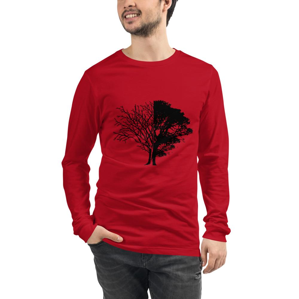 Tree of Knowledge Bella Canvas Unisex Long Sleeve Tee-Long Sleeve-Bandits Emporium-Bandits Emporium