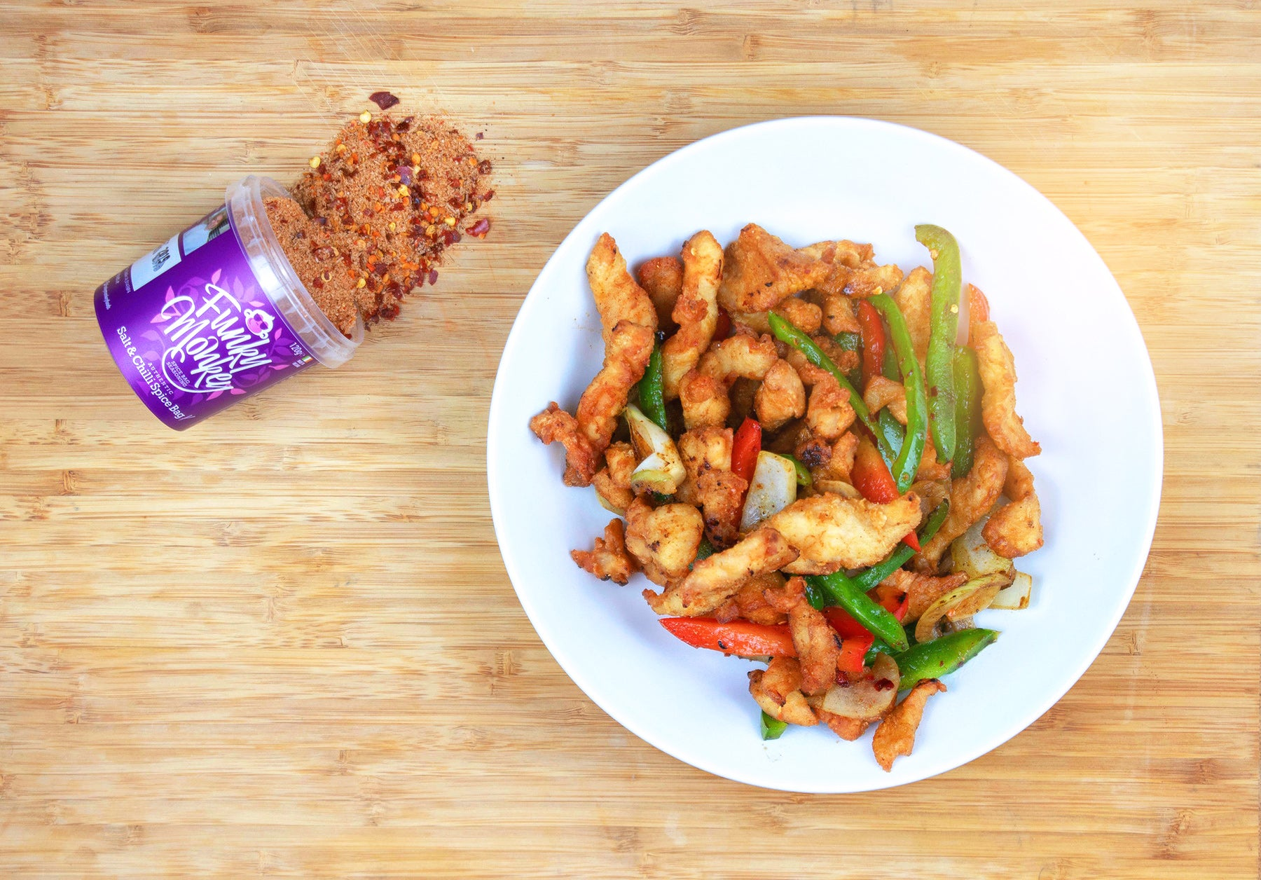 Funky Monkey Salt & Chilli Chicken