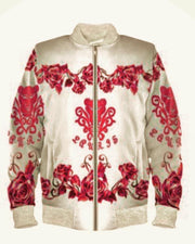 Lauris Couture Pink Rose Jacket