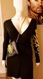 Lauris Couture Wrap Dress