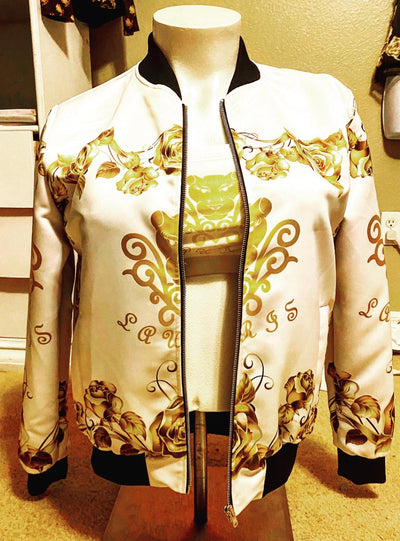 Lauris Couture Rose Gold Jacket