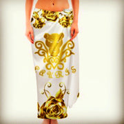 Lauris Couture Rose Gold Sarong